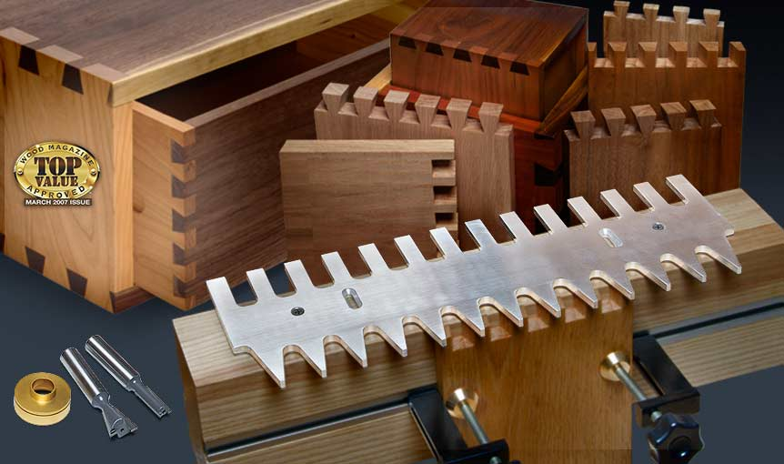 Mlcs Pins And Tails Through Dovetail Templates And